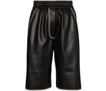 'Yolie' Shorts in Lederoptik