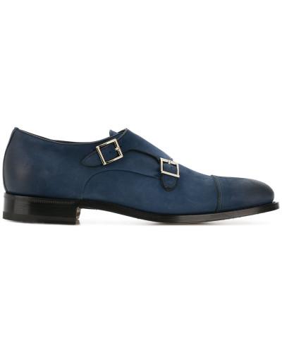 Santoni Herren Monk-Schuhe in Distressed-Optik Billig Verkauf Bester Platz Verkauf Auslass Größte Lieferant Visa-Zahlung Günstig Online Freies Verschiffen Wirklich KPugE7a