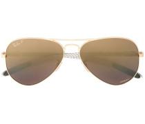 Pilotenbrille mit Farbverlauf-Gläsern