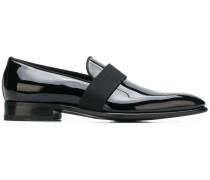 Penny-Loafer aus Lackleder