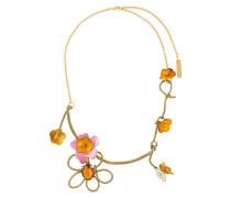 Halskette mit Blumendetails