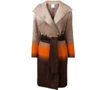 Mantel mit Colour-Block-Optik
