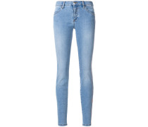 Skinny-Jeans in Washed-Optik
