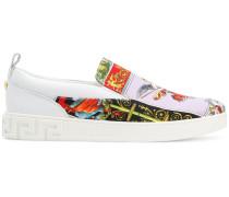 Slip-On-Sneakers mit Medusa