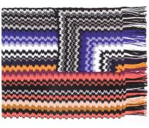 Schal mit geometrischem Muster