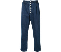 Jeans mit elastischem Bund