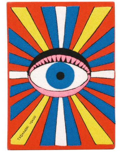 Sehr Billig Günstiges Preis Original Olympia Le-Tan Damen 'Eye' Clutch im Buchdesign Spielraum Beste Preise Kostengünstige Online s0VY0TOm