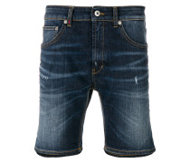 Jeansshorts im Used-Look
