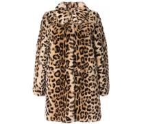Mantel mit Leopardenmuster