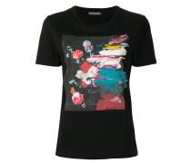 T-Shirt mit Malerei-Print