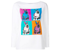 Hemd mit Hasen-Print