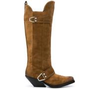 Kniehohe Cowboy-Stiefel