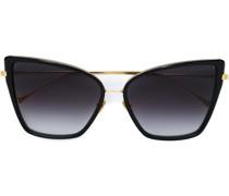 Cat-Eye-Sonnenbrille im Oversized-Design