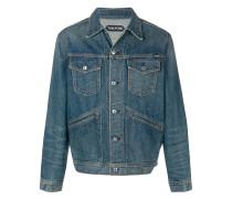Jeansjacke mit Knopfverschluss