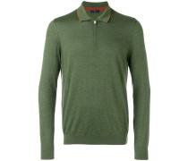 Poloshirt mit Reißverschluss