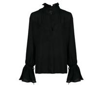 'Demi' Bluse mit Rüschenkragen
