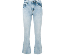 Bootcut-Jeans im Cropped-Design