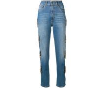 Verzierte Jeans