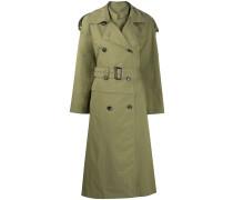 Trenchcoat im Layering-Look