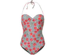 Badeanzug mit Kirschen-Print