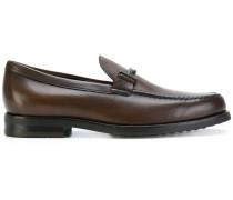 Loafer mit doppeltem T-Riemen