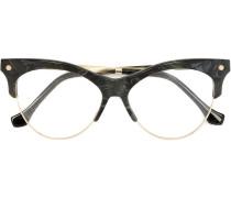 Sonnenbrille mit Marmoreffekt