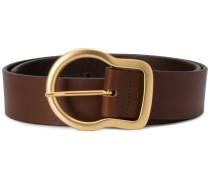 gold-tone buckle belt