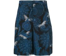 Klassische Shorts mit Paisley-Print