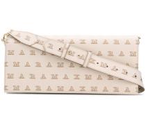 logo-print baguette bag