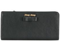 Portemonnaie mit Schleife