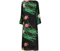 Kleid mit Lilien-Print