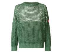 Pullover in Waffeltextur