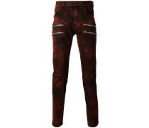 Skinny-Jeans mit Reißverschluss