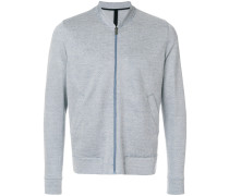 zipped lightweight jacket