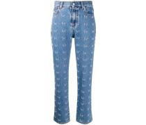 'Youth' Jeans mit schmalem Bein