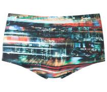 abstract print swim trunks