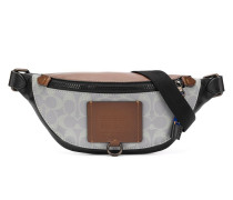 monogram print belt bag
