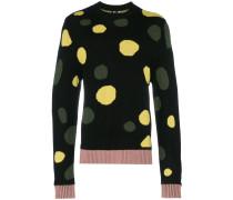 Pullover mit Kreismuster