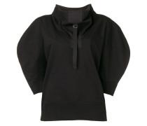 Kurzärmeliger Oversized-Pullover