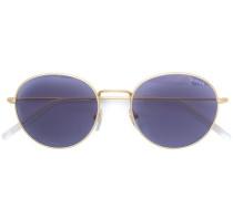 Wire round sunglasses
