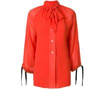 tie-neck floaty blouse