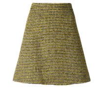 dogtooth pattern skirt