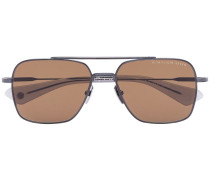 Eckige 'Flight' Sonnenbrille