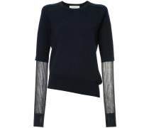 panelled sleeves jumper