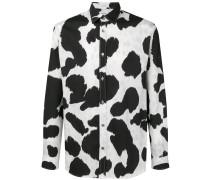 Hemd mit Kuh-Print