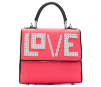 Love tote backpack