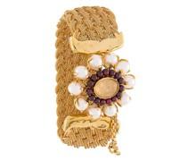 Geflochtenes 'Perle Baroque' Armband