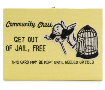 'Get Out of Jail Free' Clutch
