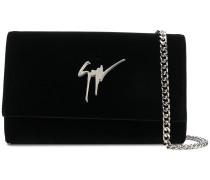 Cleopatra velvet shoulder bag