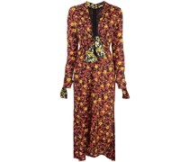 Georgette-Kleid mit Print
